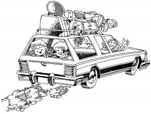 Kids help plan vacation